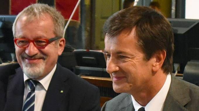 Giorgio Gori e Roberto Maroni