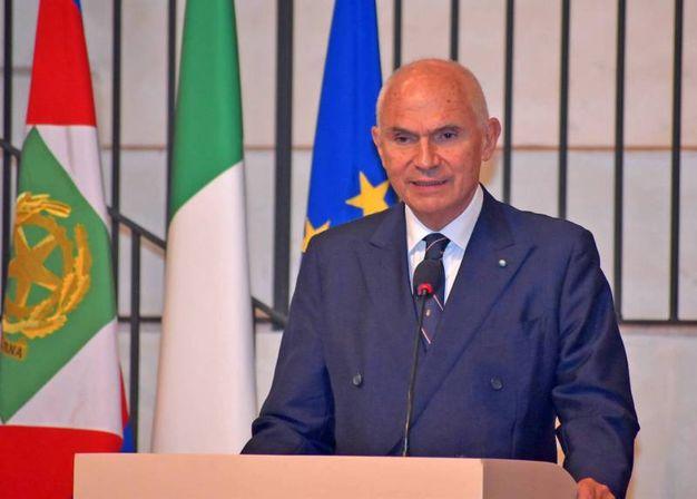 Il presidente del Collegio Ghislieri, Gian Arturo Ferrari (Torres)