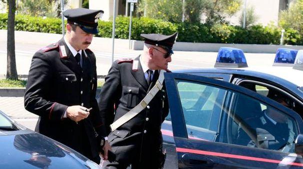 IN AZIONE Sul luogo dell'aggressione a Marlia sono intervenute le forze dell'ordine
