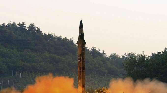 Corea Nord, test missilistici (Ansa)
