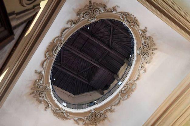La sala è opera di Paolo Canali (foto Schicchi)