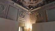 Le sale sono fastosamente decorate con dipinti di Giovanni Antonio Burrini (foto Schicchi)