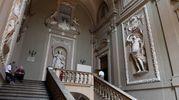 La monumentale scala di benvenuto (foto Schicchi)
