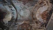 I meravigliosi affreschi del Palazzo (foto Schicchi)