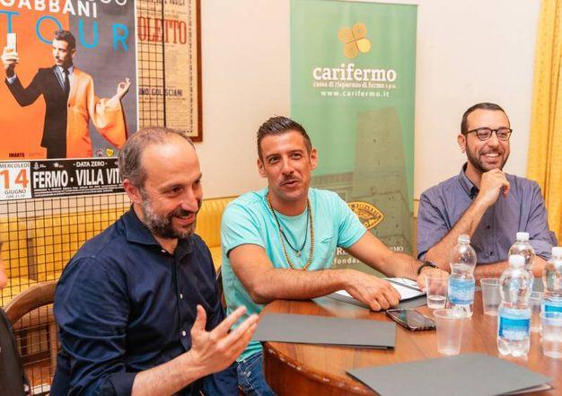 A Fermo la data zero del tour di Gabbani (foto Zeppilli)