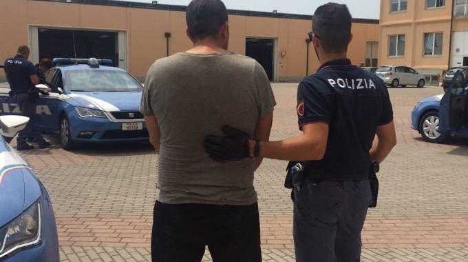 Il ladro arrestato