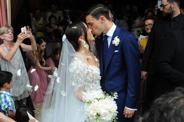 Matrimonio a Rescaldina: Matteo Darmian sposa Francesca Cormanni (Studiosally)