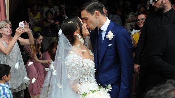 Matteo Darmian sposa Francesca Cormanni