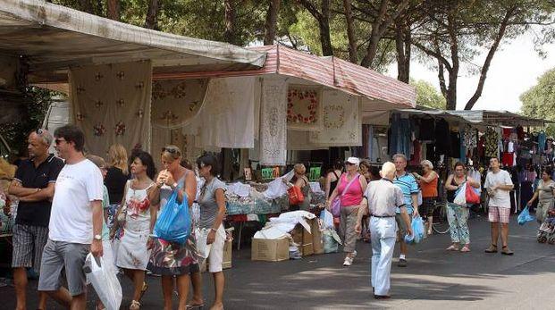 Il mercato ambulante del giovedì