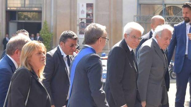 La visita del presidente Sergio Mattarella (Torres)