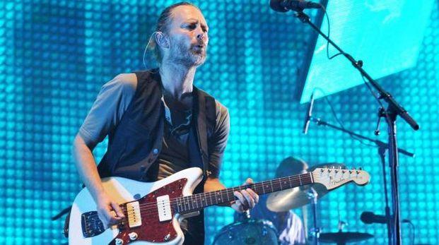 Thom Yorke voce dei Radiohead