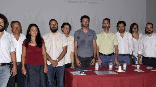La squadra che ha reso possibile l'edizione 2017 del cinema estivo (Businesspress)