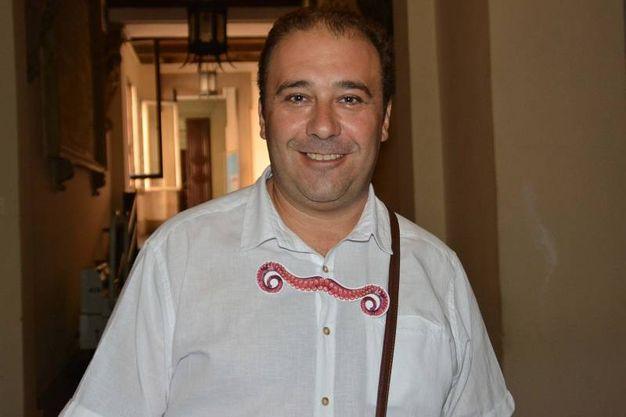 Daniele Esposito, presidente del consiglio comunale (Foto Lanari)