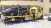 La Ferrari sequestrata