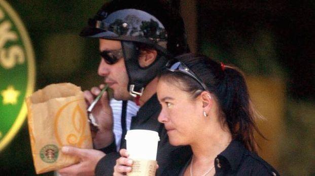 L'attore canadese Keanu Reeves insieme con la sorella Kim (Olycom)