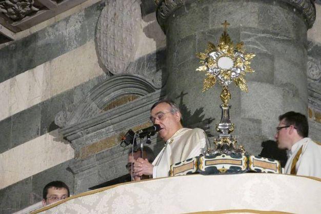 La processione del Corpus Domini (foto Attalmi)
