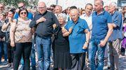 Familiari, amici e tanti conoscenti si sono stretti nel dolore della cerimonia funebre tenutasi nella chiesa di San Gabriele dell'Addolorata a Campiglione di Fermo e celebrata da don Luigi Traini (Foto Zeppilli)