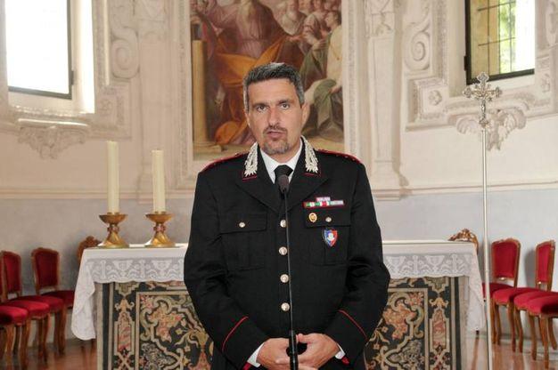 Il capitano Francesco Provenza del Nucleo tutela patrimonio culturale (Canali)
