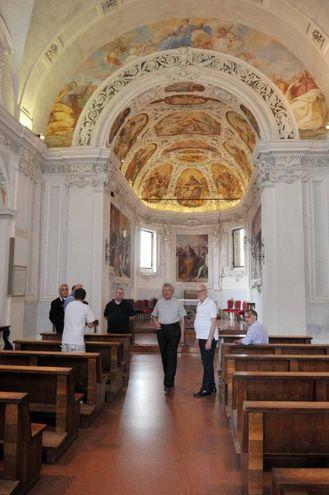 La chiesa di San Dionigi (Canali)