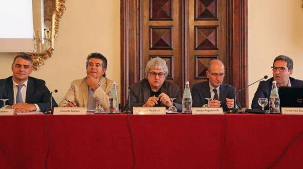 La presentazione a Palazzo Sersanti del Festival della Pubblica Utilità che si terrà il 20 ottobre