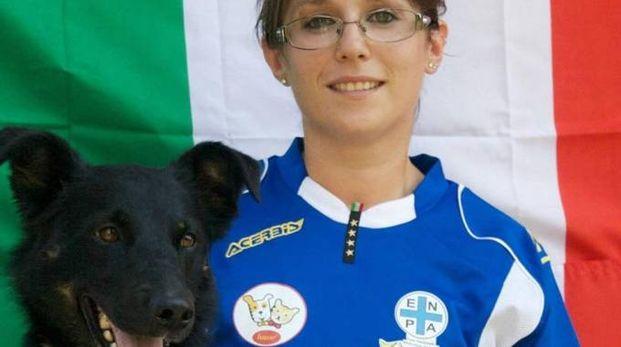 Silvia e il suo cane Bea
