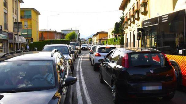 Traffico sul nodo di Pontesecco