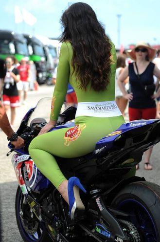 Bellezze alla Superbike (foto Petrangeli)