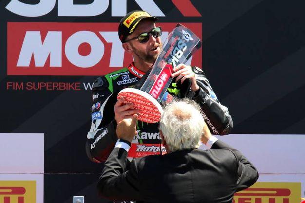 Il vincitore (foto Petrangeli)