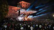 Il concerto nel grande parco di Palazzo San Giacomo a Russi  (Foto Zani /Casadio)