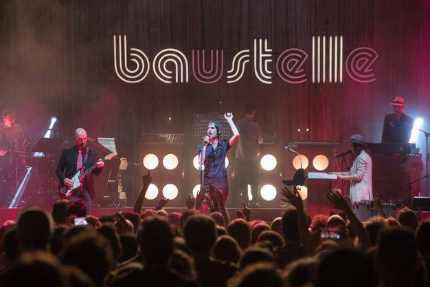 Tantissimo pubblico per i Baustelle a Russi (Foto Zani/Casadio)