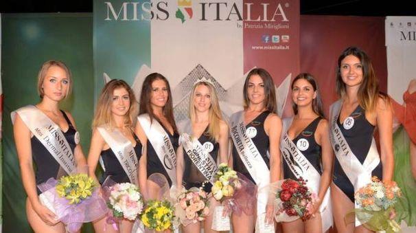 Le miss (foto Giovanni Rastrelli)