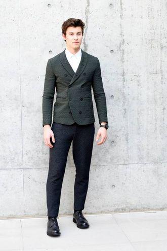 Il cantante Shawn Mendes (Newpress)