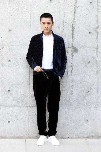 L'attore e cantante cinese Hu Ge (Olycom)