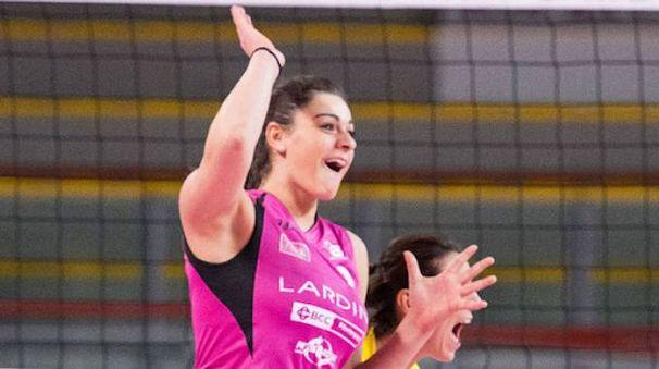 Francesca Villani è approdata alla Millenium dal Filottrano