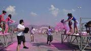 Alcuni momenti della Color Vibe (Foto Novi)