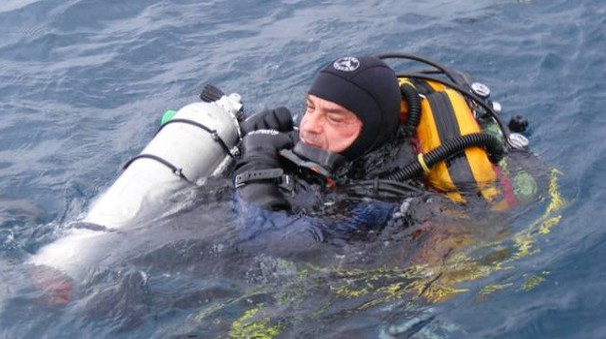 Il sub Massimo Di Michele, morto in immersione