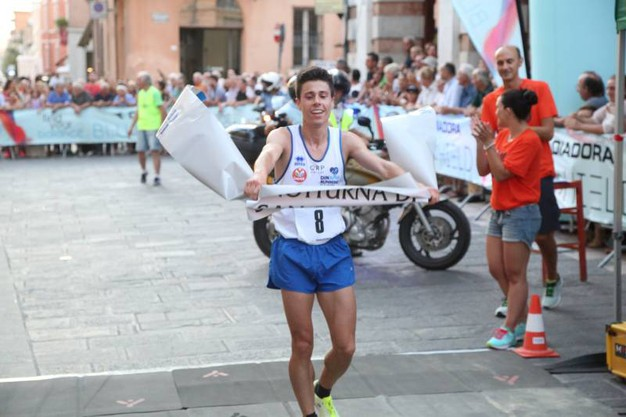 Il vincitore Alberto Della Pasqua (foto Ravaglia)