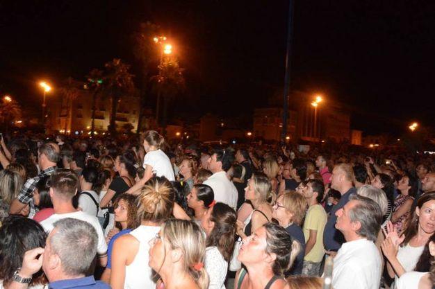 Il concerto di Raf (Foto Umicini)