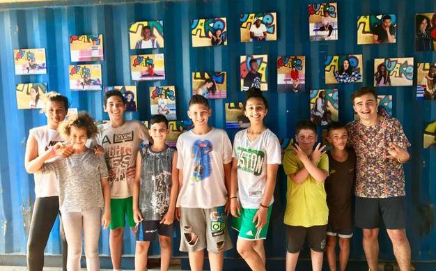 Alcuni dei ragazzi di 'Facce da Quake'