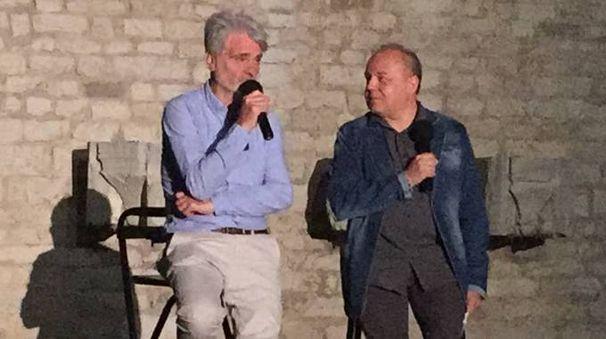 Claudio Bigagli e Federico Berti al Castello dell'Imperatore