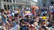 Radio Italia Live, fan in attesa del concerto in piazza Duomo