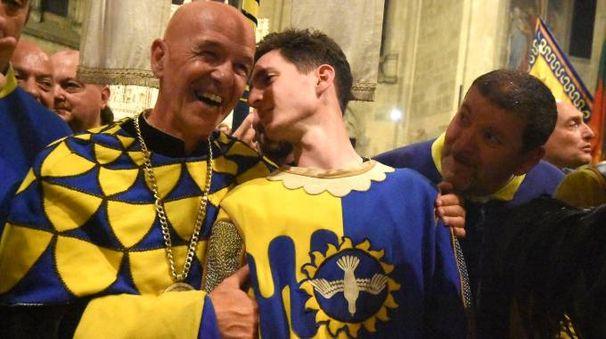 Ezio Gori ed Elia Cicerchia