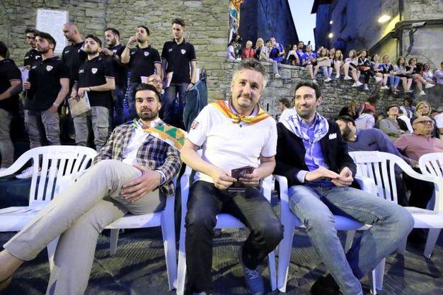 Palio: i presidenti dei Rioni