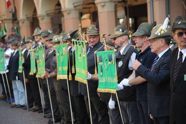 L'adunata degli Alpini (Foto Fiocchi)