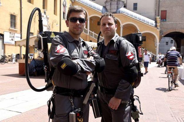 A caccia di fantasmi in centro a Ferrara (foto Businesspress)