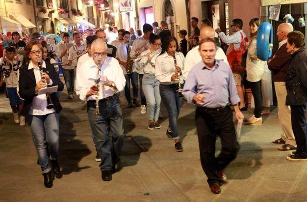 La Banda di Santa Cecilia a Bagno di Romagna (foto Ravaglia)