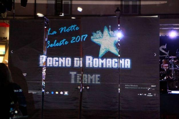 Bagno di Romagna, inizia la Notte Celeste (foto Ravaglia)