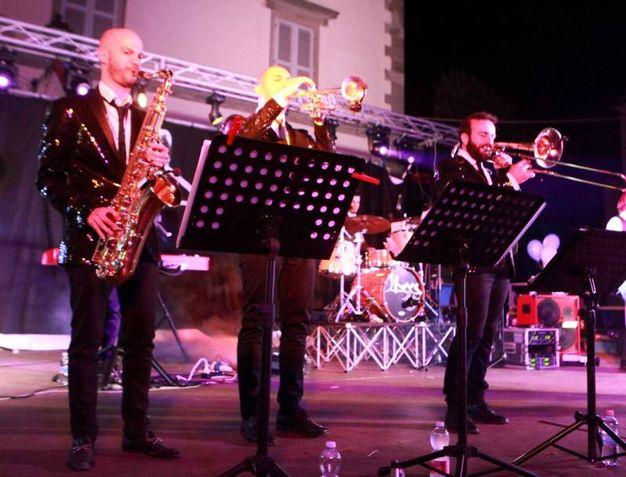 J.Bees alla Notte Celeste di Bagno di Romagna  (foto Ravaglia)