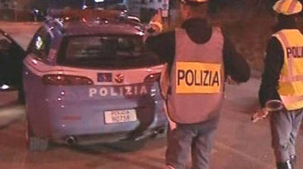 Rilievi della polizia stradale
