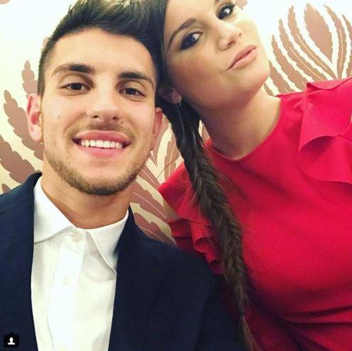 Lorenzo Pellegrini e Veronica Martinelli (Instagram)